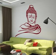 Buddha Wall Decal Vinyl Paper Wall Stickers Home Decal Buddha Buddhism Nirvana Wall Sticker Home Decor Living Room Mural Wy 28 Stickers Home Decor Wall Stickers Home Decordecoration Living Room Aliexpress
