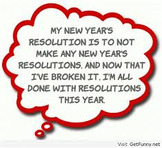 humorous quotes about new year s resolutions