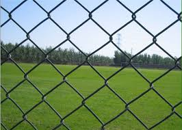 2 Inch Pvc Coated Chain Link Fence 0 5m 2m Width Great Steel Nature Capacity