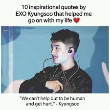 exo love shot ❤ inspirational quotes by do kyungsoo