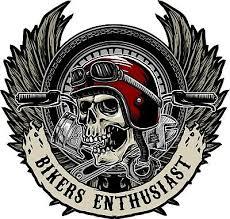 Motorcycle Skull Sticker Harley Davidson Style Tank Helmet Pannier Decal Ebay