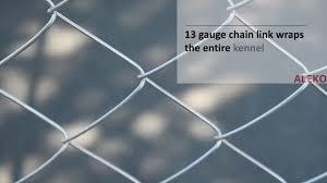 Diy Chain Link Dog Kennel 7 5 X 7 5 X 4 Feet Youtube