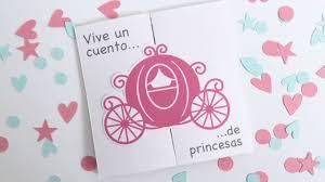 Cumpleanos De Princesas Invitacion Y Marcasitios Scraparizate