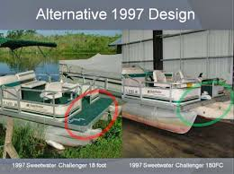 Preventing Pontoon Boat Over The Bow Propeller Accidents By Design