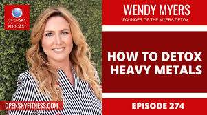 How to Detox Heavy Metals with Wendy Myers - Ep. 274 - Open Sky Fitness