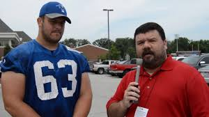 Colts Camp Conversation with Austin Blythe - YouTube