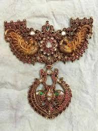 antique ruby pendants