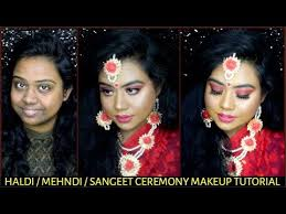 bridal haldi mehndi sangeet ceremony