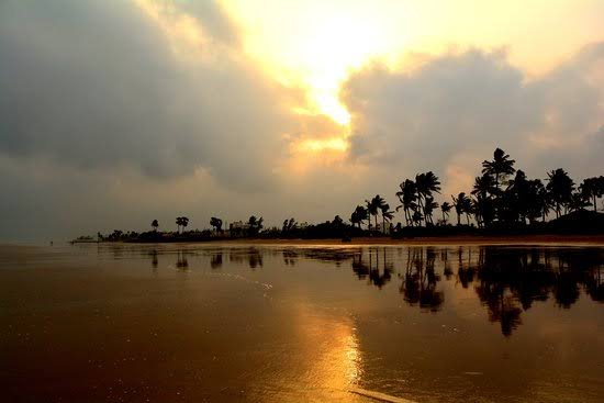 Mandarmani beach destination in India