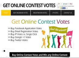 Buy Online Contest Votes and Win Contest Prize - How to Win Online ...