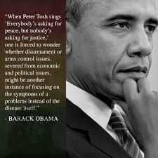 Peter Tosh - Wah gwaan? Former President Barack Obama... | Facebook