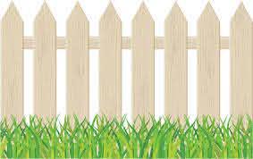 Cartoon Garden Fencing Clip Art Library