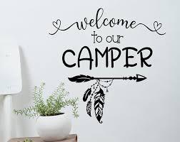 Rv Camper Decals Jadedecals