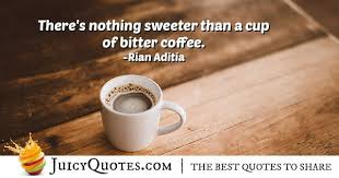 bitter coffee quote picture