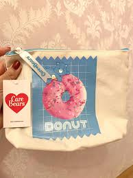 care bears donut makeup pouch care
