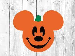 Disney Mickey Mouse pumpkin svg //Disney svg // Disney