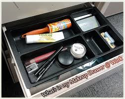 what s in my makeup drawer work
