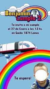 Invitacion Junior Express Topa Tarjeta Digital Imprimible 99