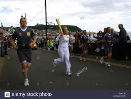 HILARY CAMPBELL TORCHBEARER OLYMPIC TORCH REL SCARBOROUGH SOUTH ...