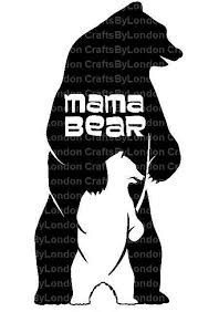 Mama Bear Baby Bear Decal Mama Bear Decal Mama Bear Car Decal Car Window Decal Laptop Decal Water Bottle Decal Mothers Day Gift