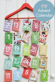 homemade paper envelope advent calendar