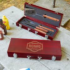 fremont personalized bbq set gift for guy