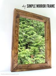 diy framed mirror jaime costiglio