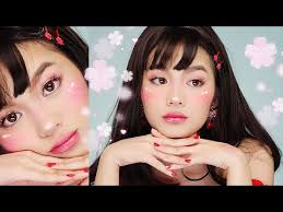 cute easy anime makeup