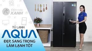 Tủ lạnh Aqua: đẹp, chứa nhiều đồ, làm lạnh hiệu quả, giá ổn (AQR ...
