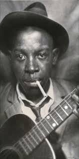 Turning to music, we celebrate the archetype of the bluesman ...