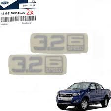 2x Sticker 3 2 6 Speed Decal For Ford Ranger T6 Mk2 Wildtrak 2012 2015 18 For Sale Online Ebay