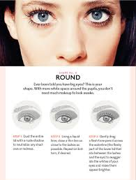 how to do eye makeup for big round eyes