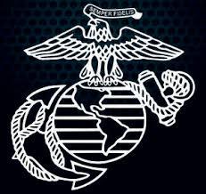 Eagle Globe And Anchor 12x12 Usmc United States Marine Corps Vinyl Decal Usa Ebay