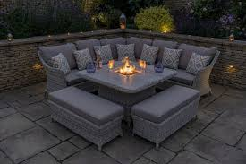 ascot square casual dining set with