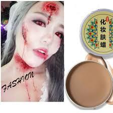 makeup drama blood face skin fake wound