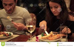 Close-up Hands Of Woman Eating Lobster ...