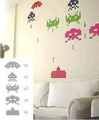 Space Invaders Wall Decals Space Up Your Wall