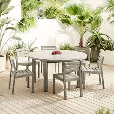 concrete outdoor round dining table 6