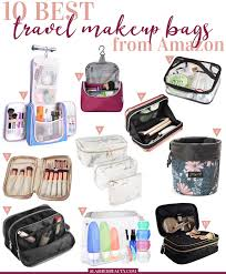 10 best travel makeup bags to on