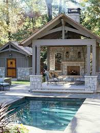 outdoor fireplace designs and ideas
