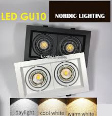 double eyeball casing c w led gu10 l