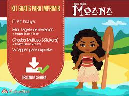 Moana Invitaciones Y Candy Bar Para Descargar E Imprimir Mundo