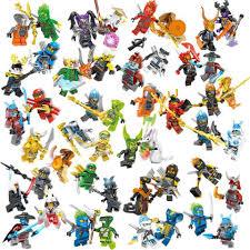 48pcs Set LEGO Ninjago Emperor Ice Lloyd Kai Cole Jay Nya vs Pythor Snake  Skalidor Set Leader Blizzard Samurai Block Kid Toys Blocks