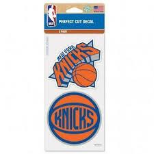 New York Knicks 2 Pack 4 X4 Car Decals New Decal Auto Emblem Sticker Nba Ebay