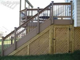 Under Stairs Patio Stairs Outdoor Stairs Building A Deck