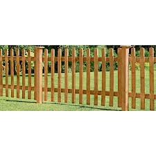 Forest Larchlap Pale 0 9m Picket Fence Panel Pack Of 4 Homebase