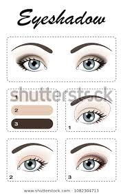 eye makeup eye shadow applied step