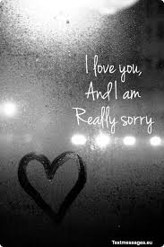 i am sorry messages for her girlfriend or wife