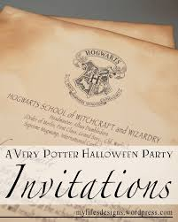A Very Potter Halloween Party Invitations Fiesta Harry Potter