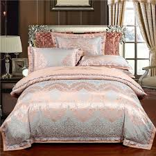 rose gold queen size bedding